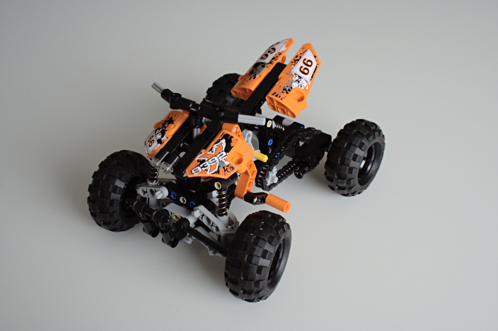 Assembled Quad Bike